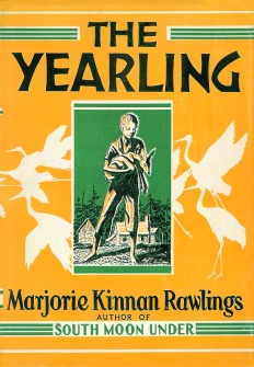 Cover of The Yearling 1938 Original